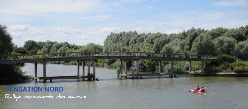 Le long du canal de Neufossé