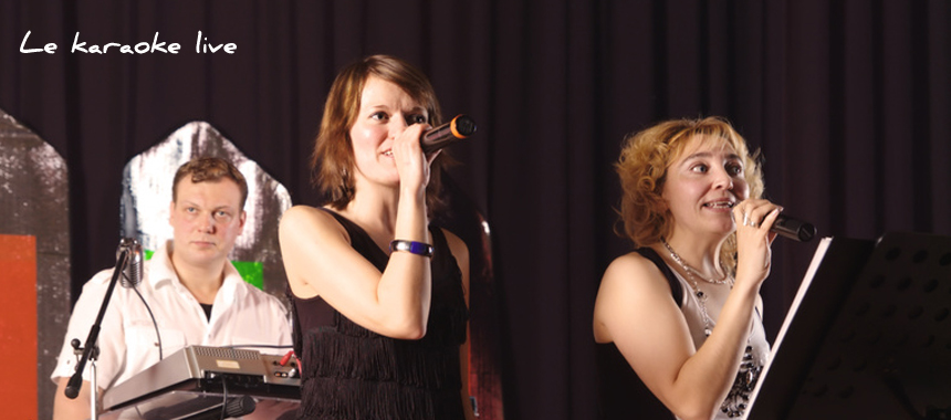 Groupe karaoké live